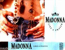 CAS - MADONNA - LIKE A PRAYER (POP DANCE) MINT FACTORY SEALED * NUEVO PRECINTADO