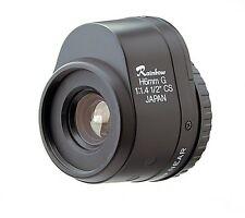 "NEW Rainbow L6DC4P 1:1.4 1/2"" 6mm F1.4 DC Type Auto Iris CCTV Lens"