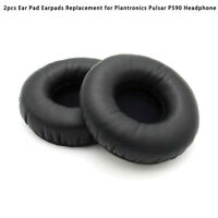 2 Ear Pad Cushion Earpads Replacement for Plantronics Pulsar P590 Headphone MA