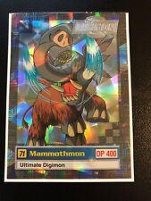 Mammothmon Digimon Card Animated Series II Super Rare