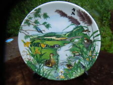 Wedgwood Plate - The Meandering Stream -  Colin Newman's Country Panorama Series