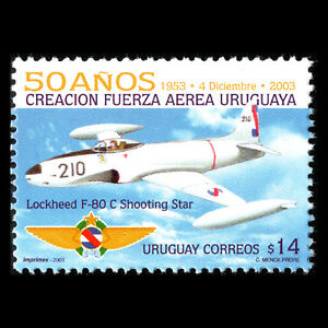 Uruguay 2003 - 50th Anniversary of the National Air Force Aviation - Sc 2050 MNH