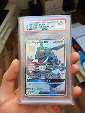 Pokemon Shiny Rayquaza GX Holo Hidden Fates Premium Collection 177a/168 PSA 9