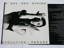 """Prince and the rivoluzione parata INTERNO ORIGINALE COVER TOP! 12"""" VINILE LP"""