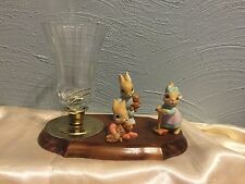 Homco Playtime Bunny Rabbit Figurines Set Of 3 # 1466