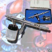 AIRBRUSH PISTOLE AIRBRUSH GUN 0.5MM EFFEKT COLOR TATTOO MODELLBAU NAIL ART AG1