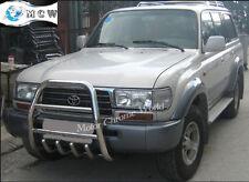 TOYOTA LAND CRUISER LC100 AMAZON BULL BAR CHROME AXLE NUDGE 60mm 1998-2007, NEW