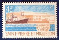 Saint Pierre et Miquelon neuf n°406, frigorifique de stockage St Pierre 1970, N*