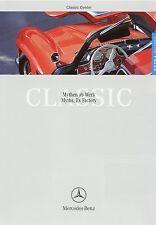Prospekt D GB Mercedes Benz Classic Center Extra 1 99 1999 190 SL 540 K 220 SEb