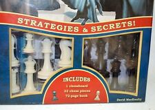 Play to Win Chess Game, Chessboard, 32 chess pcs and 72 page book.