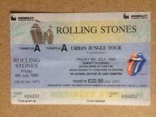 ROLLING STONES Urban Jungle Tour 1990 Unused Wembley Ticket