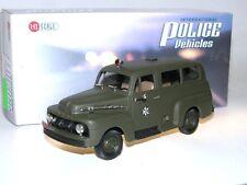 Brooklin IPV 16, 1952 Ford F-1 Ranger ISRAELI POLICE, olive green 1/43