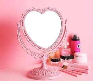 Nice Desk Table Women Girl Make-up Mirror Cosmetic Rotation Mirror Beauty Mirror