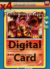 4x Volcanion 25/114 PLAYSET Pokemon TCG Online !! PTCGO Digital Card !!