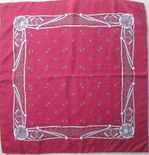 -Authentique Foulard GUCCI soie TBEG vintage 86 x 89 cm c3a240f452f