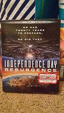**NEW** Independence Day: Resurgence (Blu-ray + DVD + Digital HD Ultraviolet)