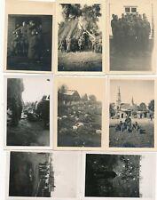 Nr. 29486  8 x Foto Deutsche Wehrmacht Einmarsch Polen Bilder des Krieges