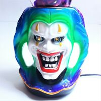 RARE Lava Light Lamp Icon Series CHESTER JESTER & Matching Purple Lava ORIGINAL