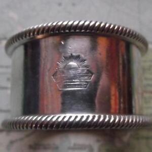 c1920 Orient Line Steam Navigation P & O Company Napkin Ring No 236
