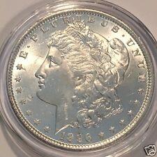 1896  $1  MORGAN SILVER DOLLAR !  7TF BU BRILLIANT UNCIRCULATED  #3140
