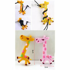 6 Lot Giraffe Headphones Cable Organizer Cord Holder Earphone Cable Winder Wraps