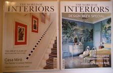 World of Interiors Architecture July Magazines
