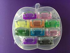 Piccola MELA Organizer con 10 x 0,07 L veramente utile caselle-casuali-Gratis P&P!