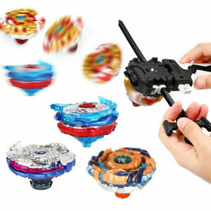 Burst Beyblade Booster Toys Starter with Launcher Set 4D Boxed Fight Battle Game