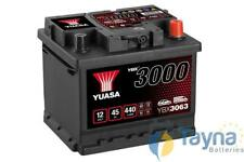 YBX3063 Yuasa SMF Autobatterij 12V 45Ah