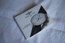 Libricino booklet BREITLING NAVITIMER MONTBRILLANT originale vintage