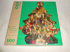 NEW SPRINGBOK 500 piece SHAPED Jigsaw Puzzle CHRISTMAS MEMORY 1993 Hallmark