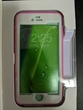 Pink and White Waterproof iPhone 6 Phone Case