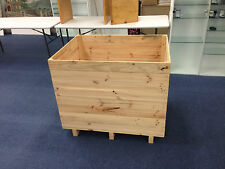 Wooden Display Crate 776mm (w) x 1030Mm (l) X 864mm (h) Used