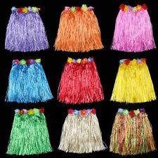 Kostüme ModeKleid Grasrock Hawaii Hula Gras Strand Elastisch RockBlumeKleidXM