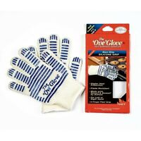 2x Ove Glove Oven Grill Gloves washable Oven Mitts up To 540 Deg(one pair) Gift