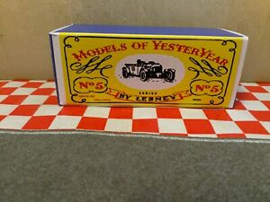 Matchbox Lesney Yesteryear Y- 5  Bentley Le Mans EMPTY Repro Box Only NO CAR