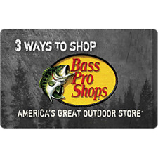 Bass Pro Shops Gift Card $50 Value, Only $44.00! Free Shipping!