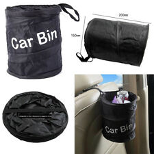 Wastebasket Trash can Litter Container Car Auto Pop Up Garbage Bin Bag Water USA