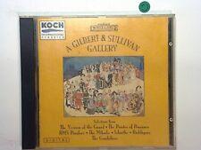Sir Arthur Sullivan - A Gilbert & Sullivan Gallery Cd Mint