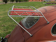 VW Classic Beetle Jim Dandy style roof rack powder coating with wood slats C9648