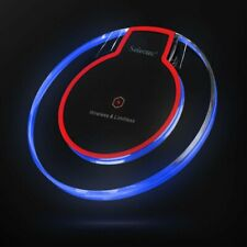 Wireless Qi Charger Dock Charging Pad For Galaxy Note S8 S9 10 iPhone 11 X XS XR