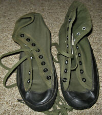 Vintage Wwii Womens Army Corps Canvas Exercise Sneakers, Unissued!