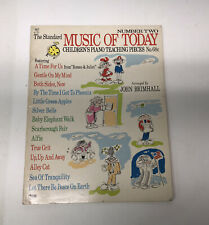 VTG The Standard Music of Today Number Two Children's Piano Teaching Pieces 68c