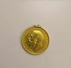 BRITISH COINS, MILLED GOLD SOVEREIGNS, George V, 1915