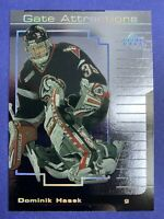 2000-01 Upper Deck Gate Attractions #GA2 Dominik Hasek Buffalo Sabres Insert