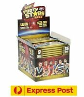 12 x 2020 SELECT FOOTY STARS TRADING CARDS FACTORY SEALED BOX 1 CASE EXPRESS