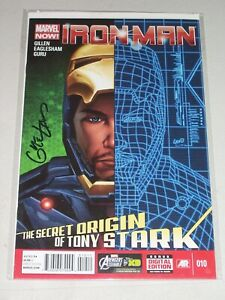 Iron Man #10! (2013) Signed by Cover Artist Greg Land! NM! COA!