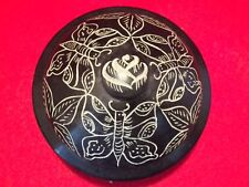 Butterfly Design  Smudge Pot or Scrying Bowl