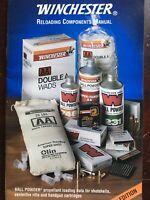 1995 Winchester Ball Powder Reloading Manual, Shotshell, Rifle, Handgun Data