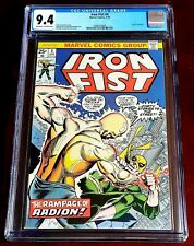 Iron Fist #4 April 1976 CGC 9.4 NM Marvel Comics Origin of Radion